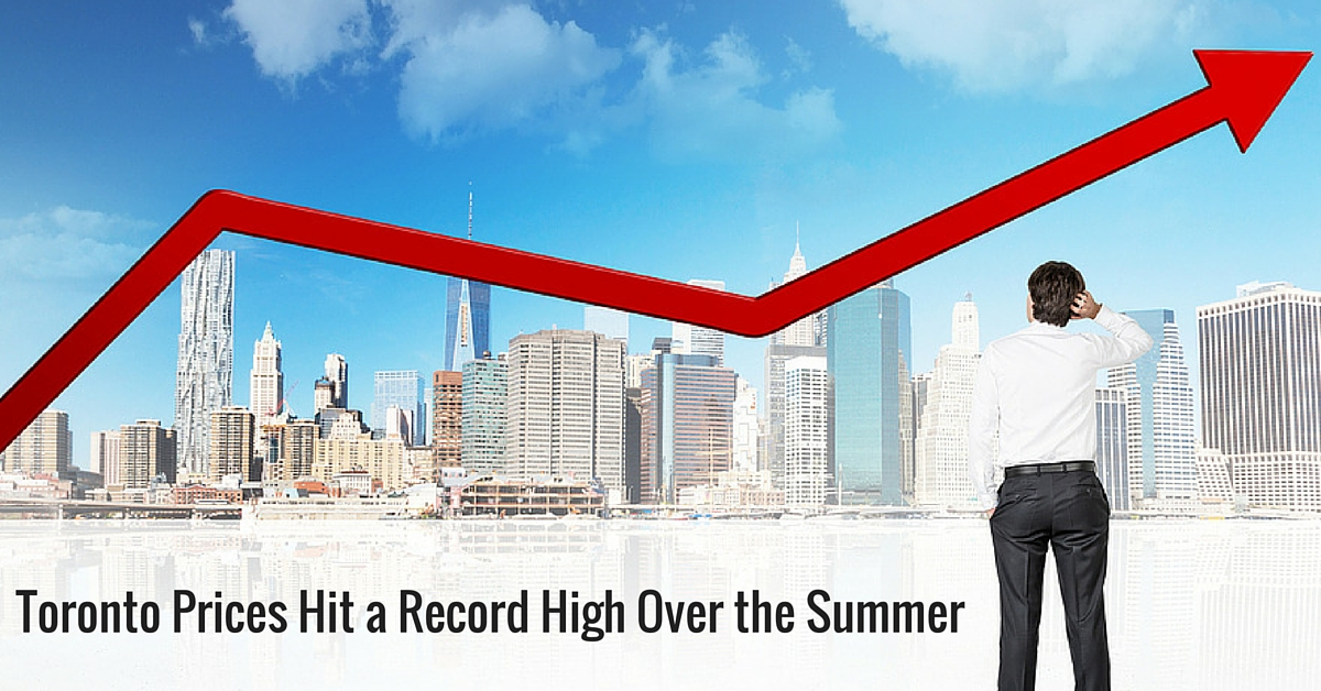 Toronto-Prices-Hit-a-Record-High-Over-the-Summer